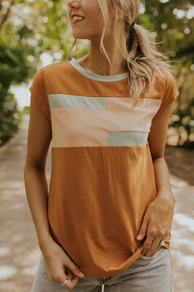 Canyon Colorblock Tee