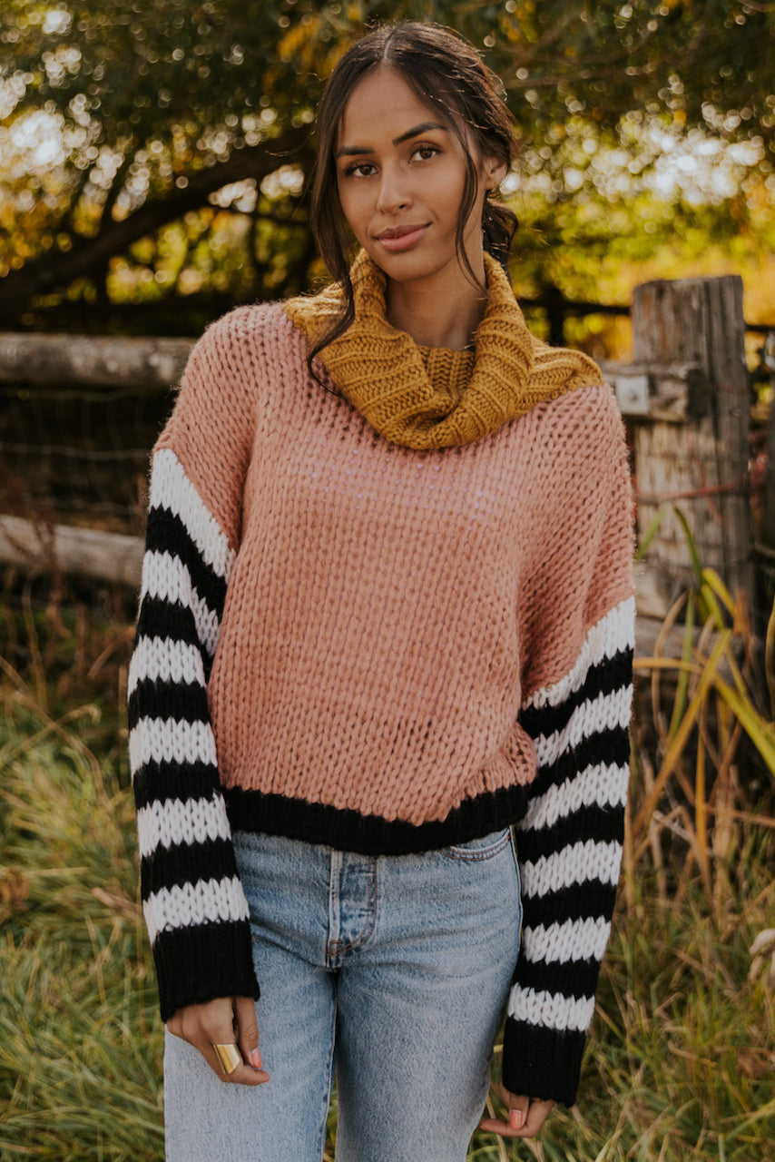 Bright Winter Colorblock Sweater | ROOLEE