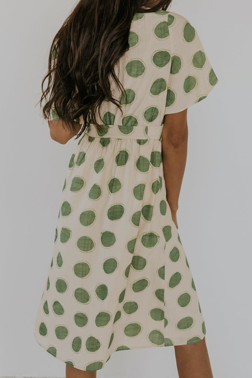Midi Polka Dot Dress | ROOLEE