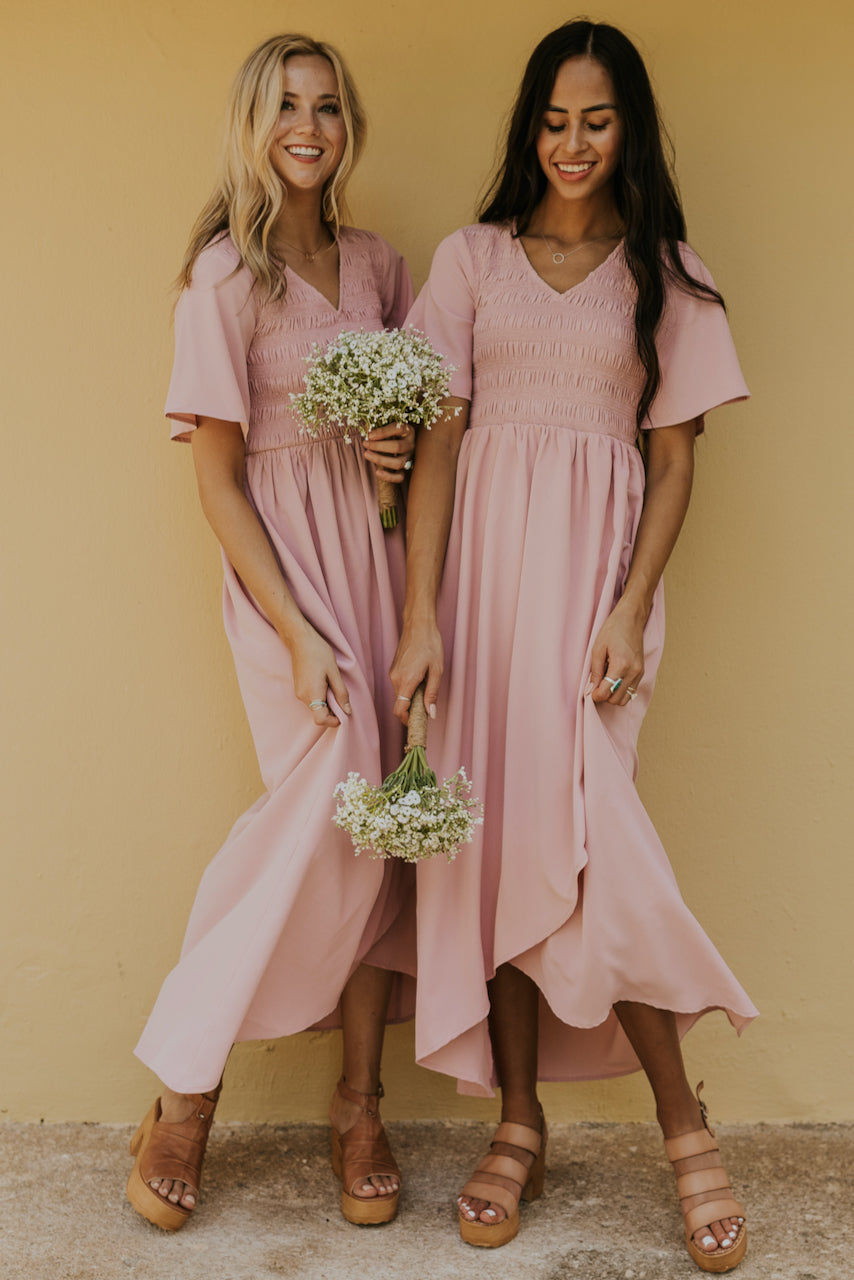 Pastel Pink Bridesmaid Dresses 2020 | ROOLEE