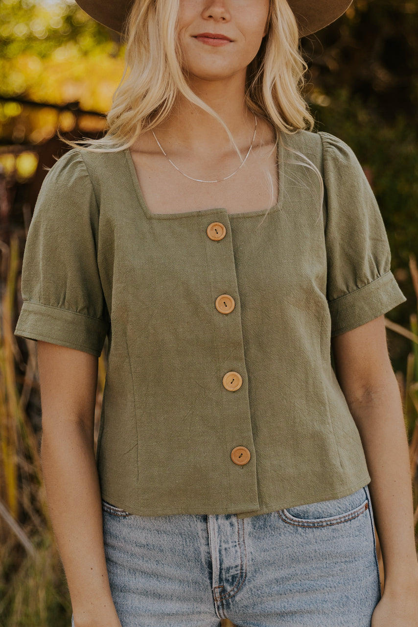 Olive Blouse | ROOLEE