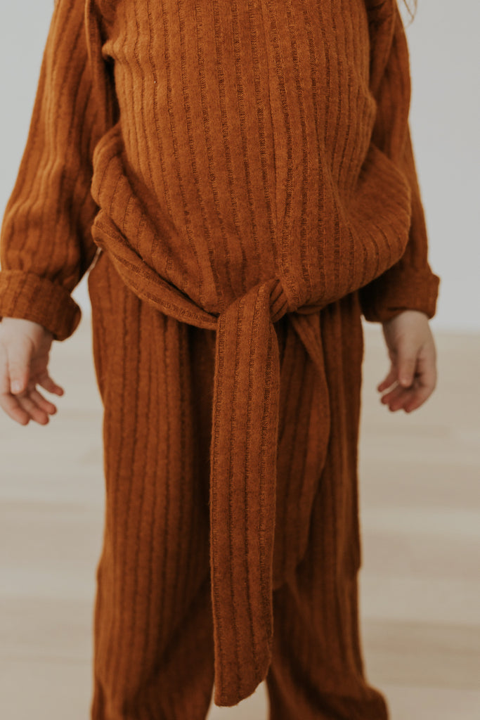 Soft Ribbed Set for Girls | ROOLEE