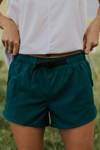 Buckle Waist Women's Shorts | ROOLEE