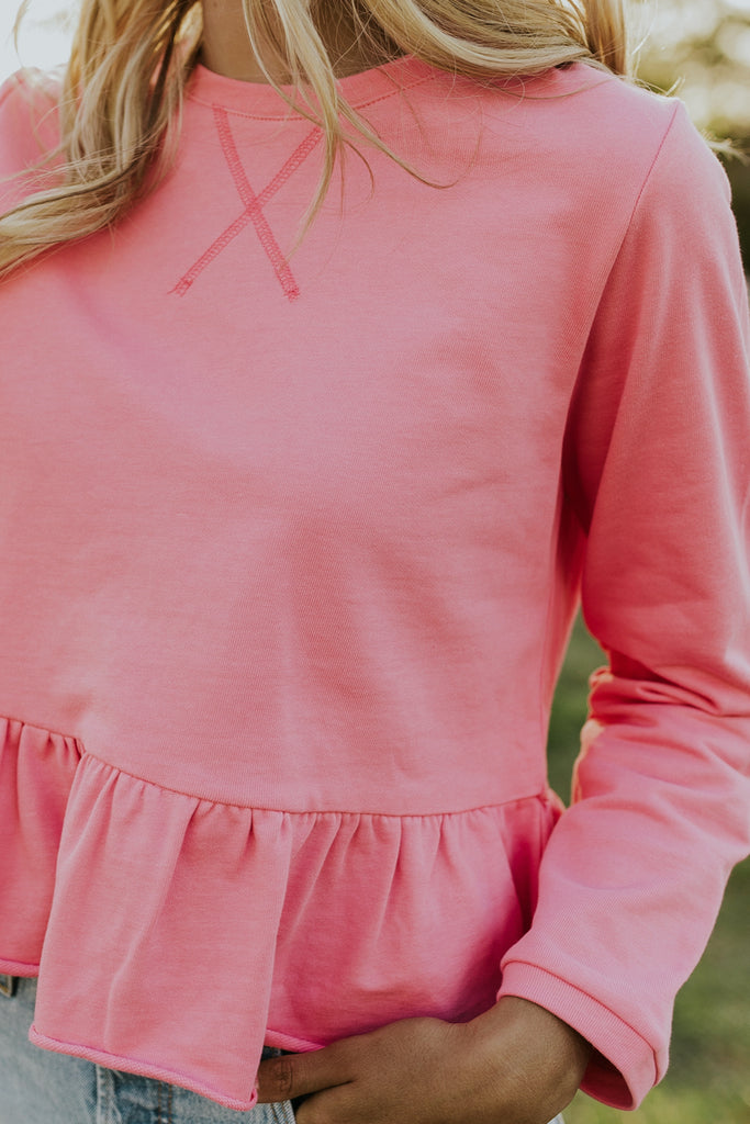 Hot Pink Blouses for Women | ROOLEE