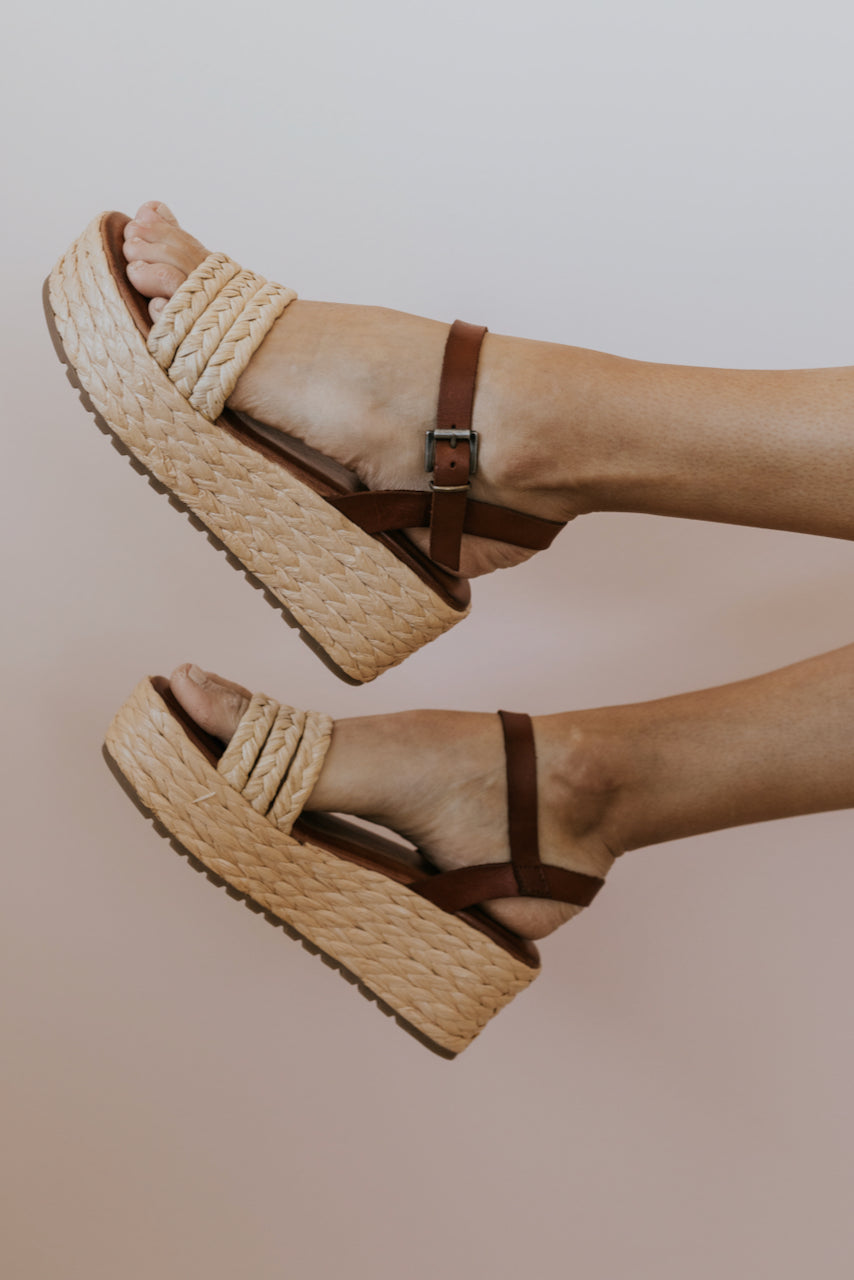Strappy summer wedges | ROOLEE