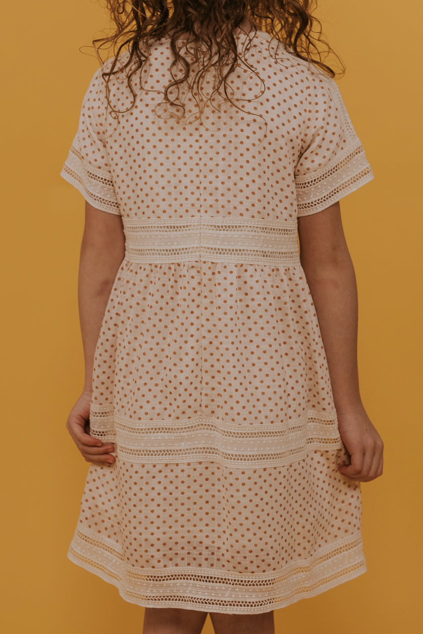 Mini Sayer Dot Detail Dress
