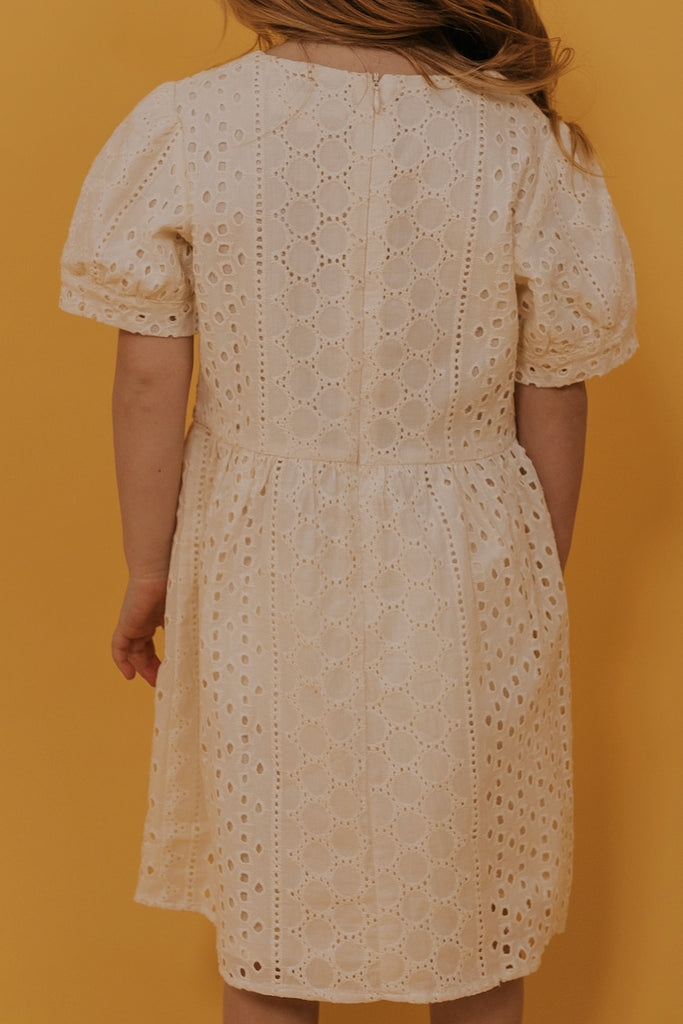 Mini Dear John Eyelet Dress