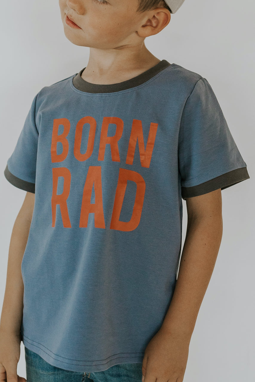 Born Rad Crewneck Tee