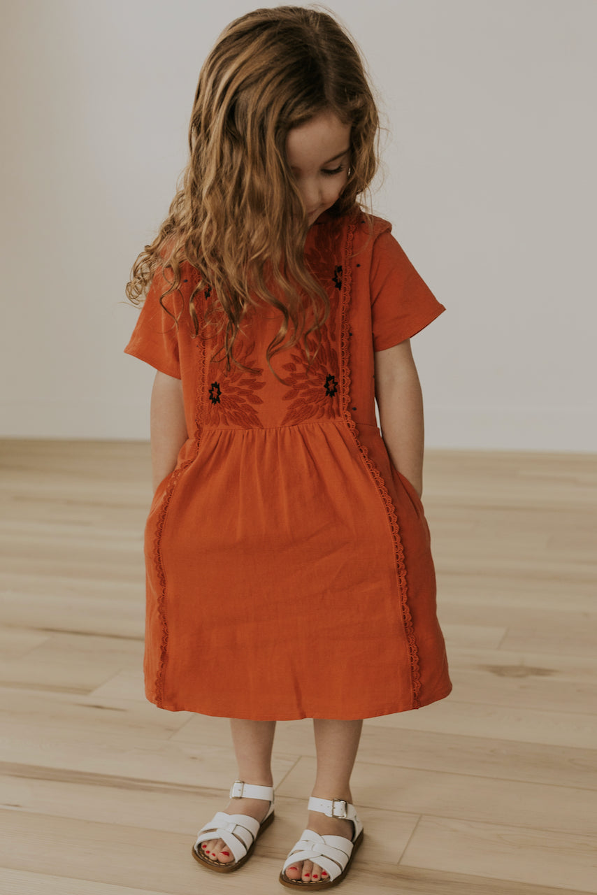 Little Girls Dresses with Pockets | ROOLEE