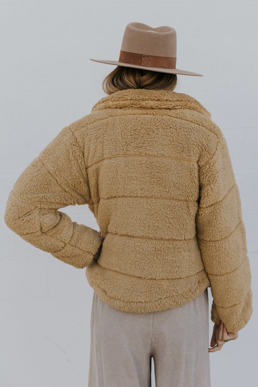 Sherpa Winter Jacket | ROOLEE