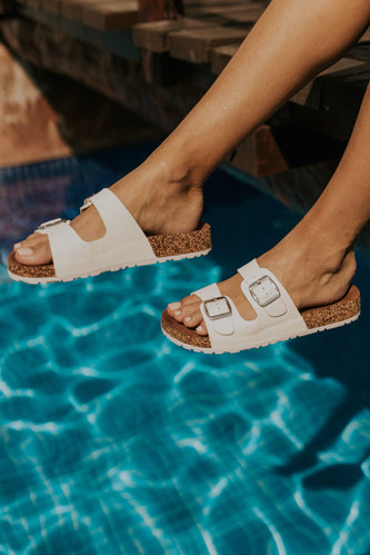 Summer slip on sandals | ROOLEE