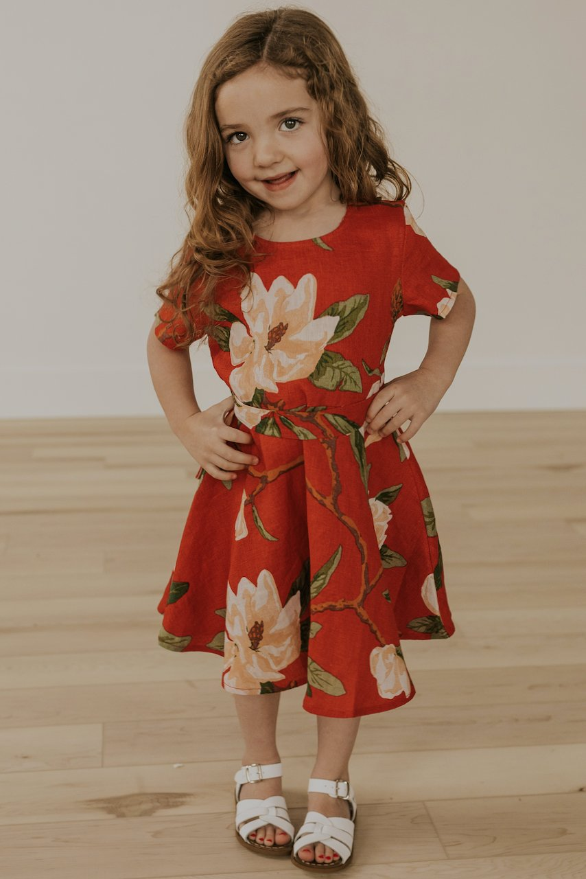 Floral Mommy and Me Spring Dresses | ROOLEE