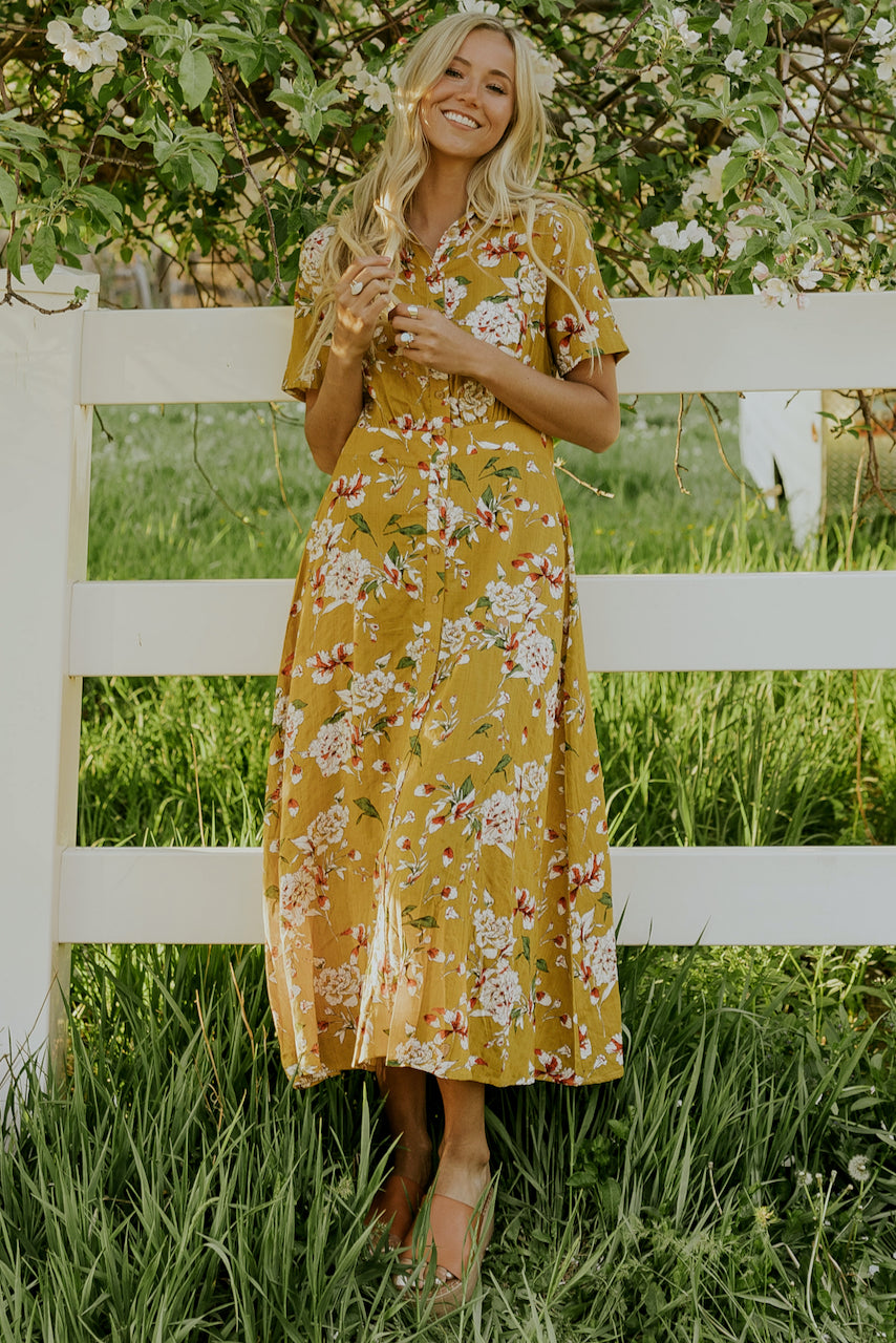 Summer Floral Dress | ROOLEE