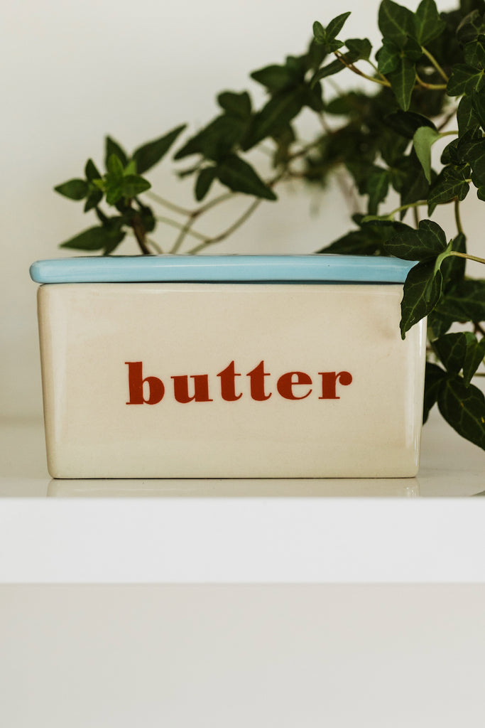 Darling ceramic dishes for butter | ROOLEE