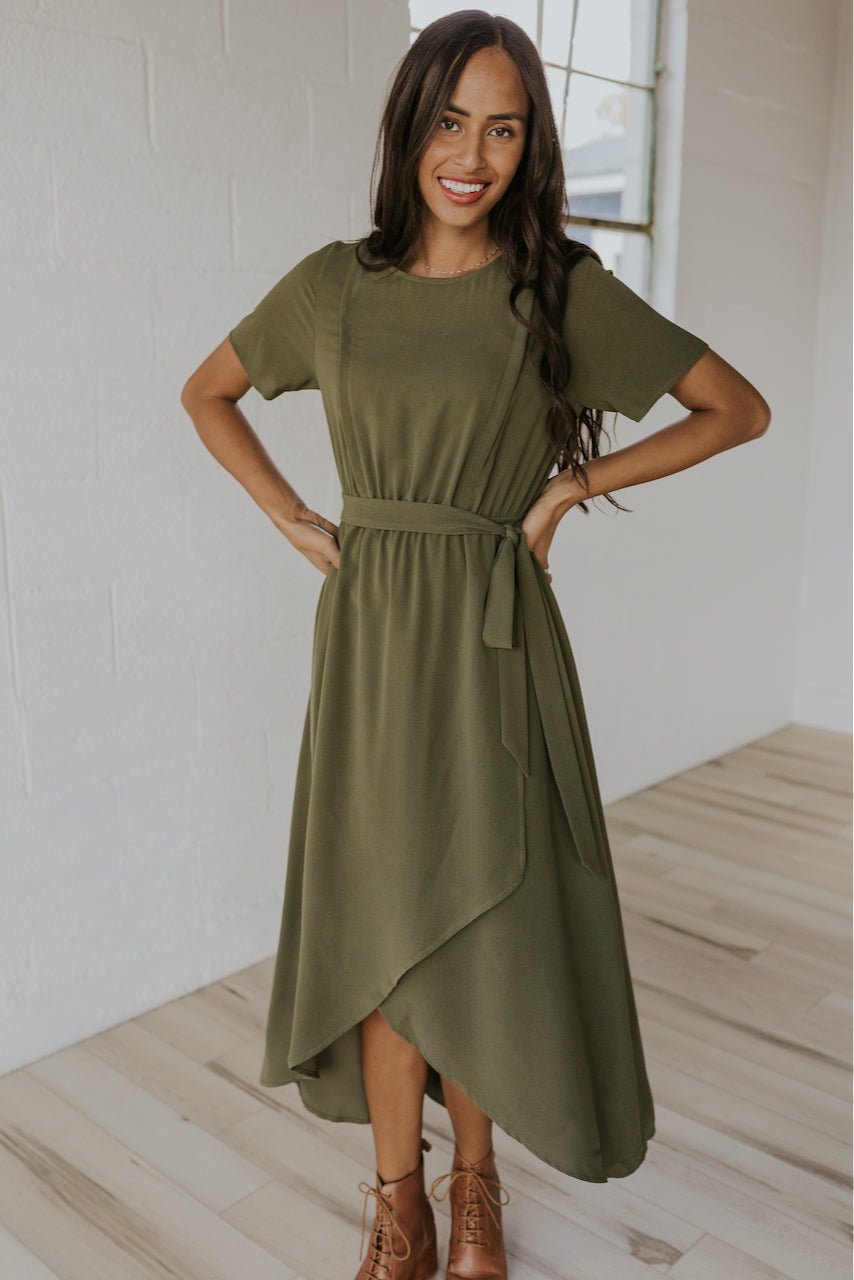 Cute green dresses for mom | ROOLEE