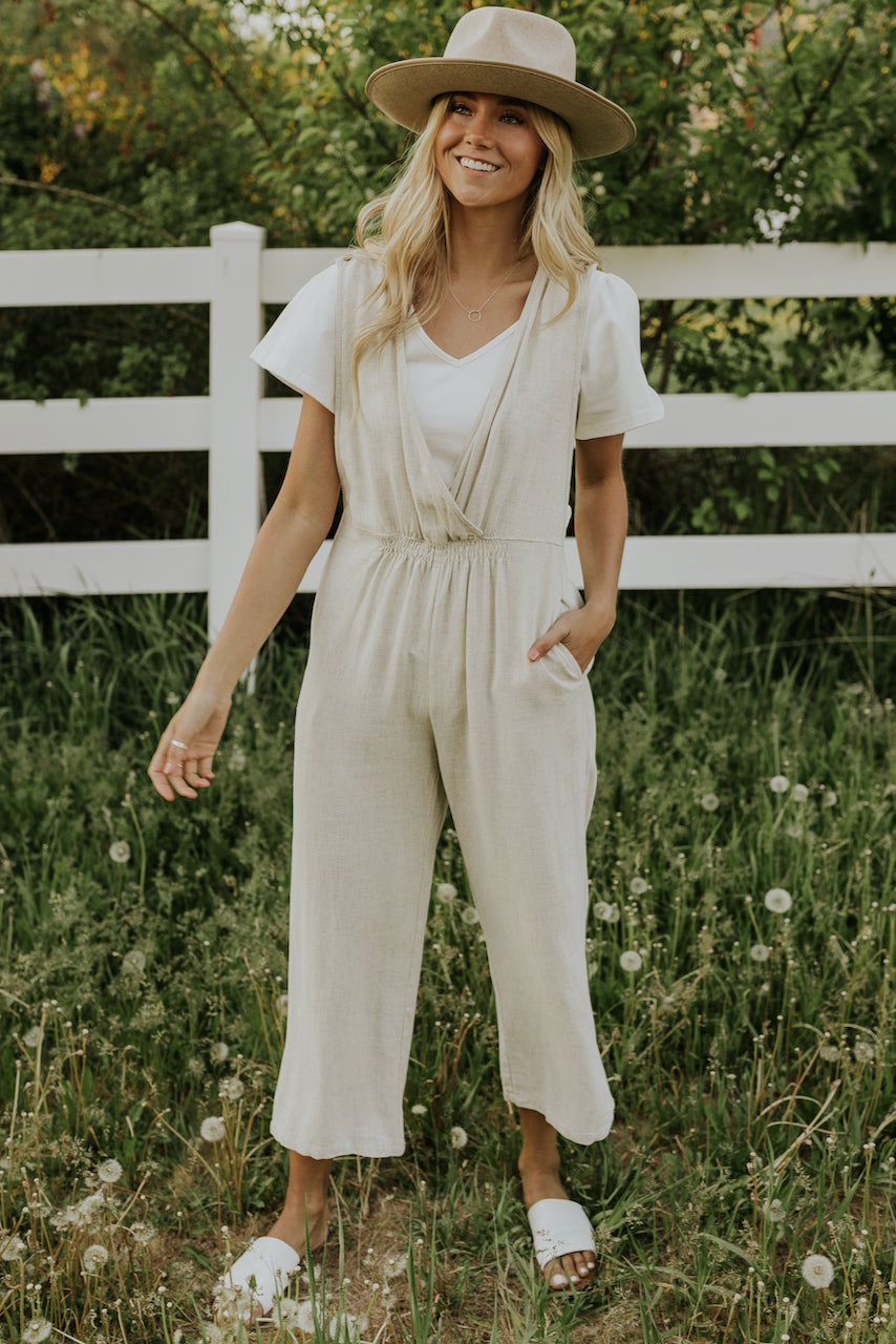 Women's Spring Simple Jumpsuits | ROOLEE