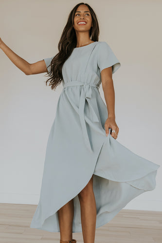 Blue maxi dress | ROOLEE