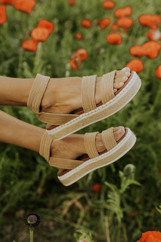 Espedrille Woven Sandals | ROOLEE