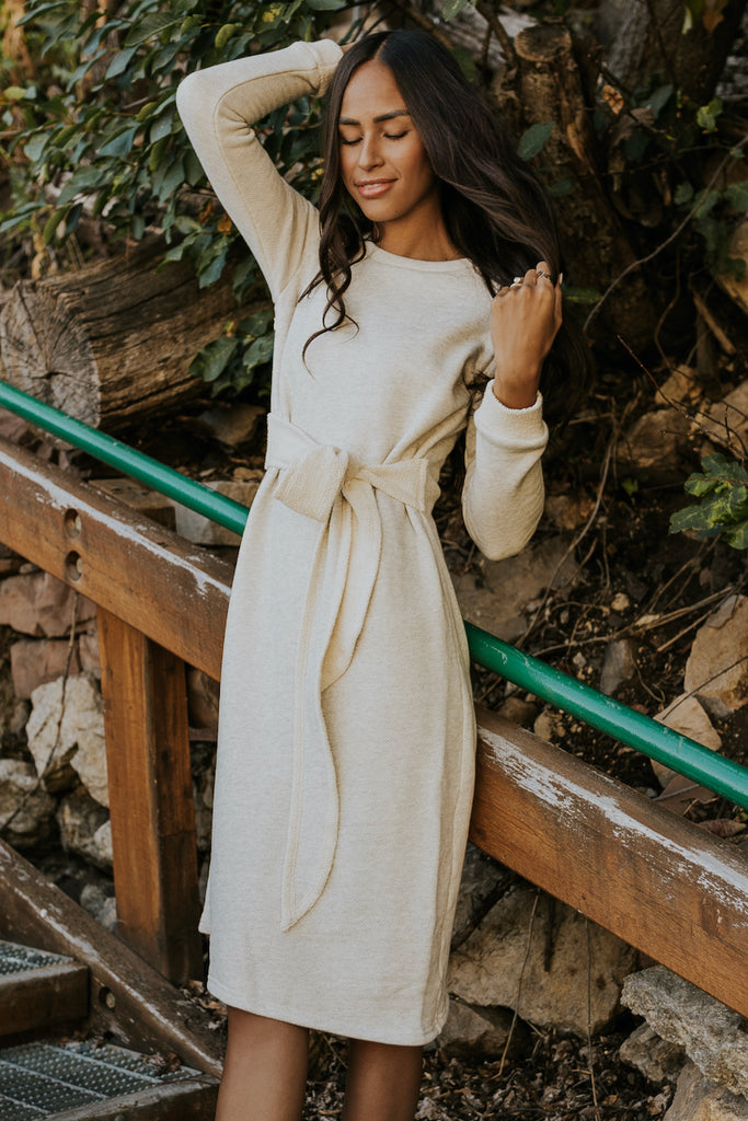 Light Cream Winter Dresses | ROOLEE