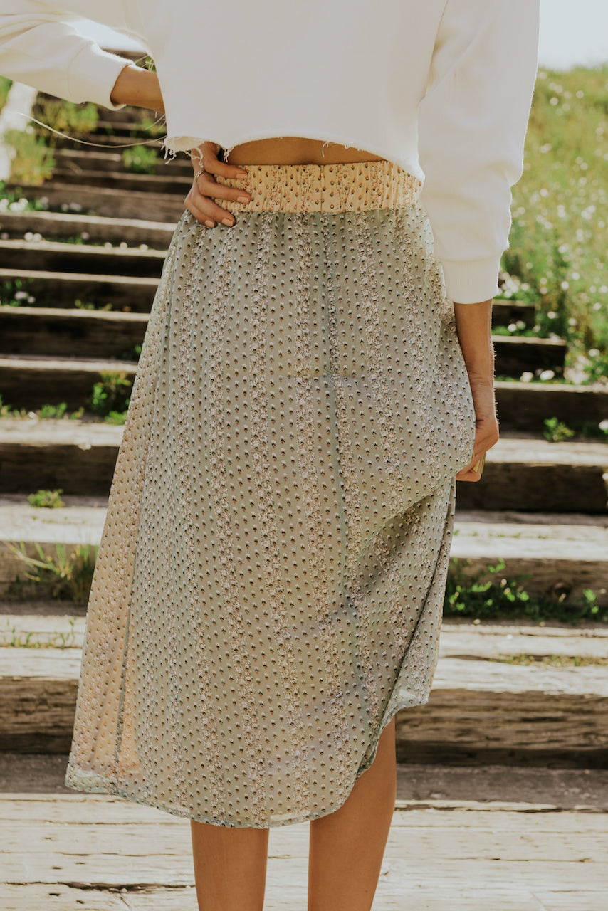 High waist modest skirts | ROOLEE