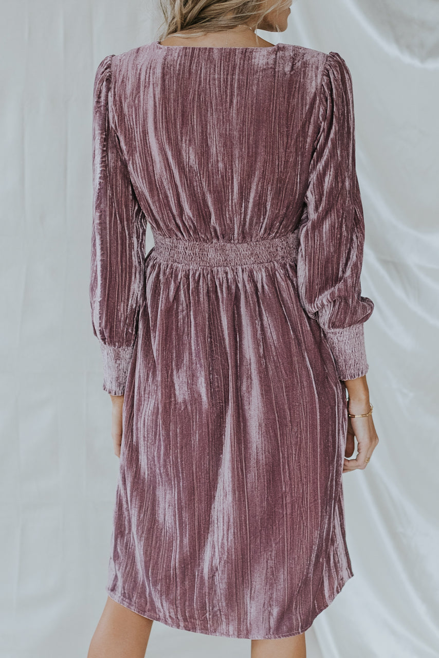 SALT Colonial Heights Velvet Dress