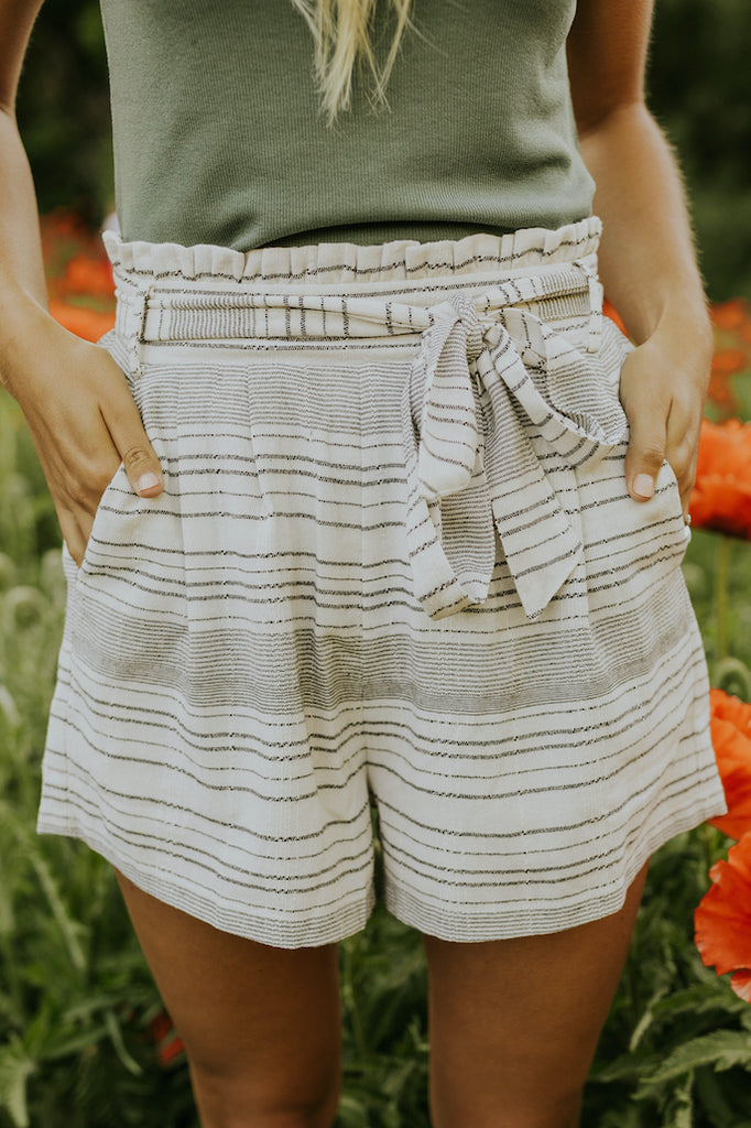 Tie waist comfy shorts | ROOLEE