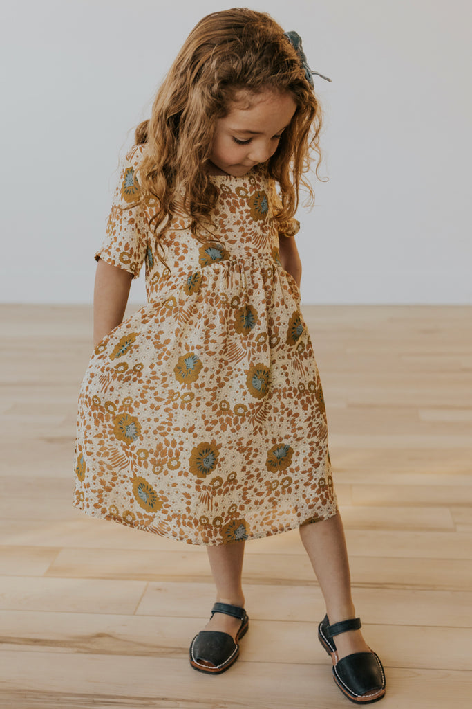 Mini By The Lake Floral Dress