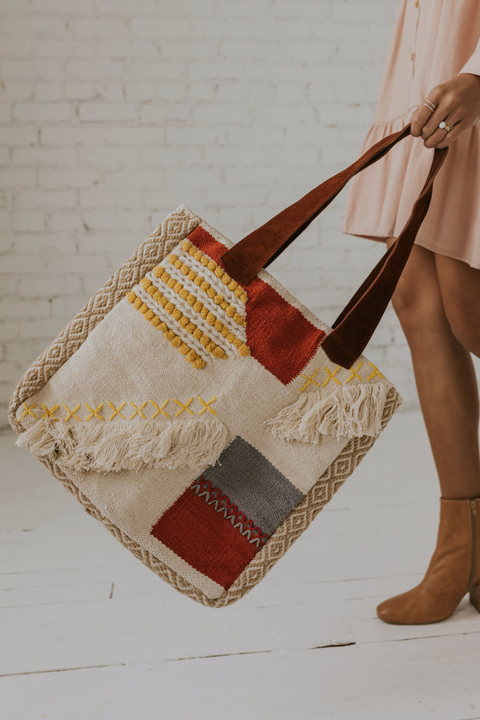 Woven Beach Tote | ROOLEE