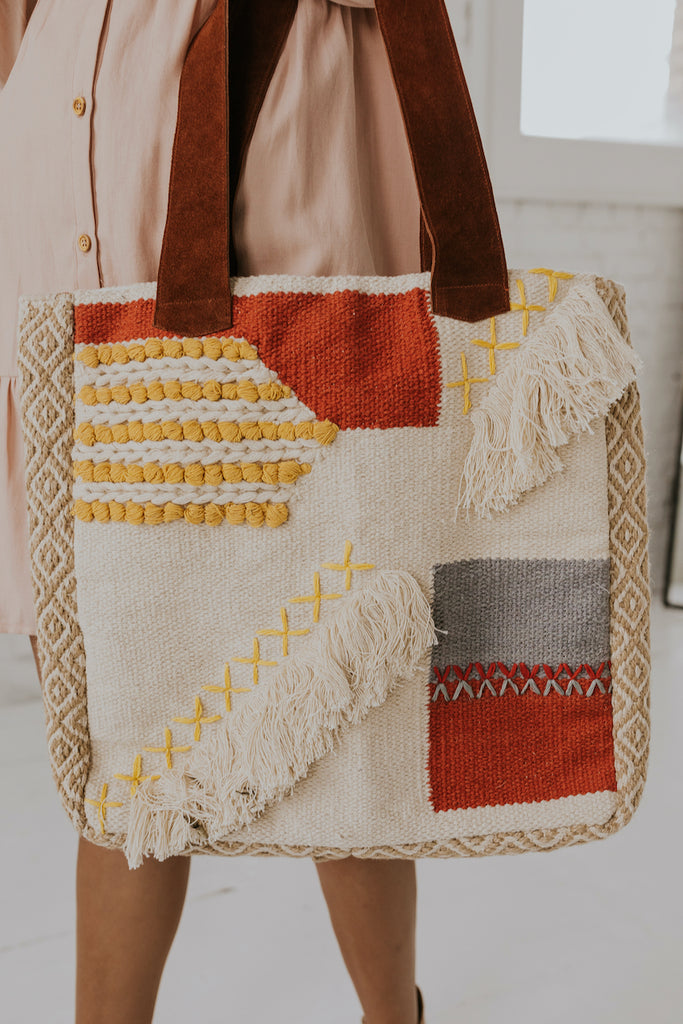 Boho Chic Tote | ROOLEE