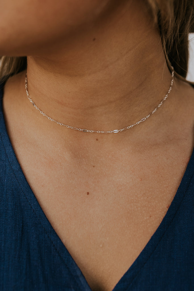 silver every day necklaces | ROOLEE