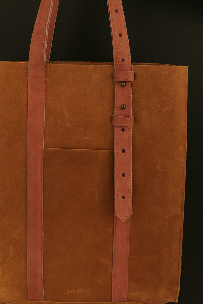 Adjustable Straps on Leather Bag | ROOLEE