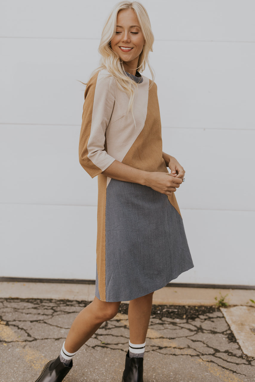 cute neutral fall dresses | ROOLEE