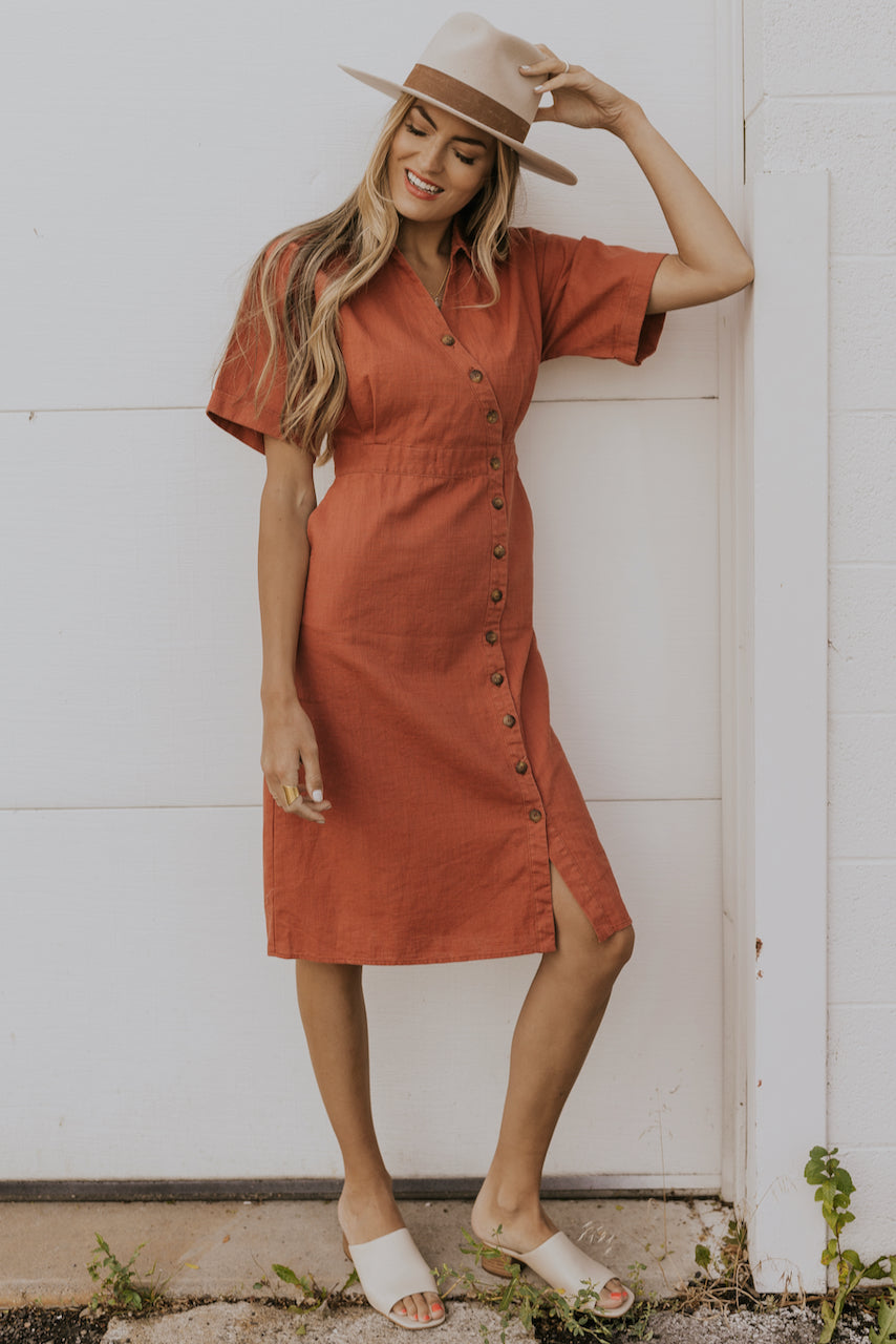 How to style a wrap front dress | ROOLEE