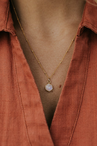 The Moonstone Necklace