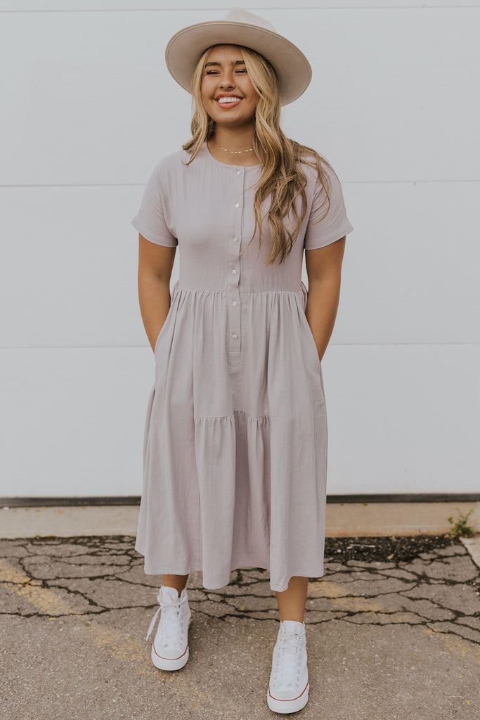 Ruffle mom dress | ROOLEE