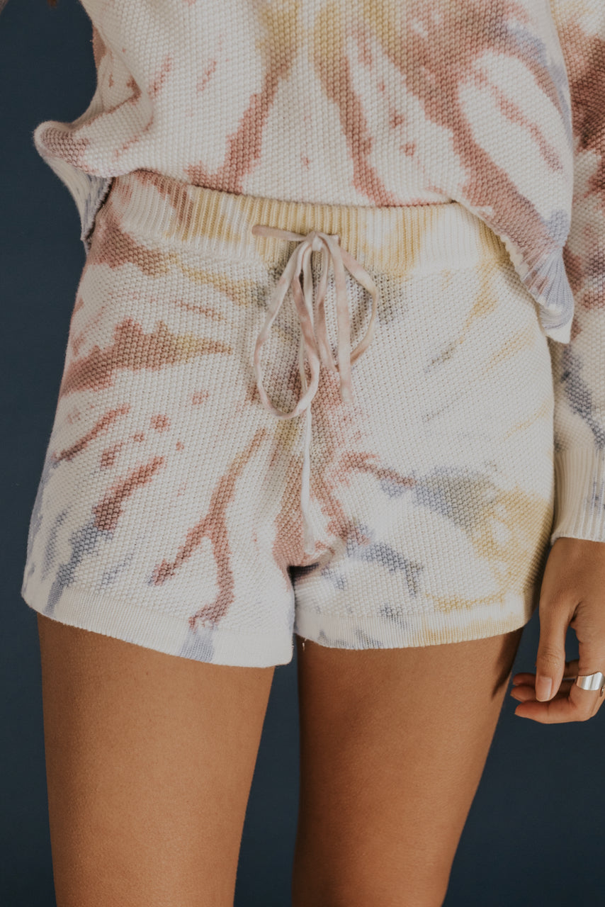 Cute tie dye matching shorts set | ROOLEE
