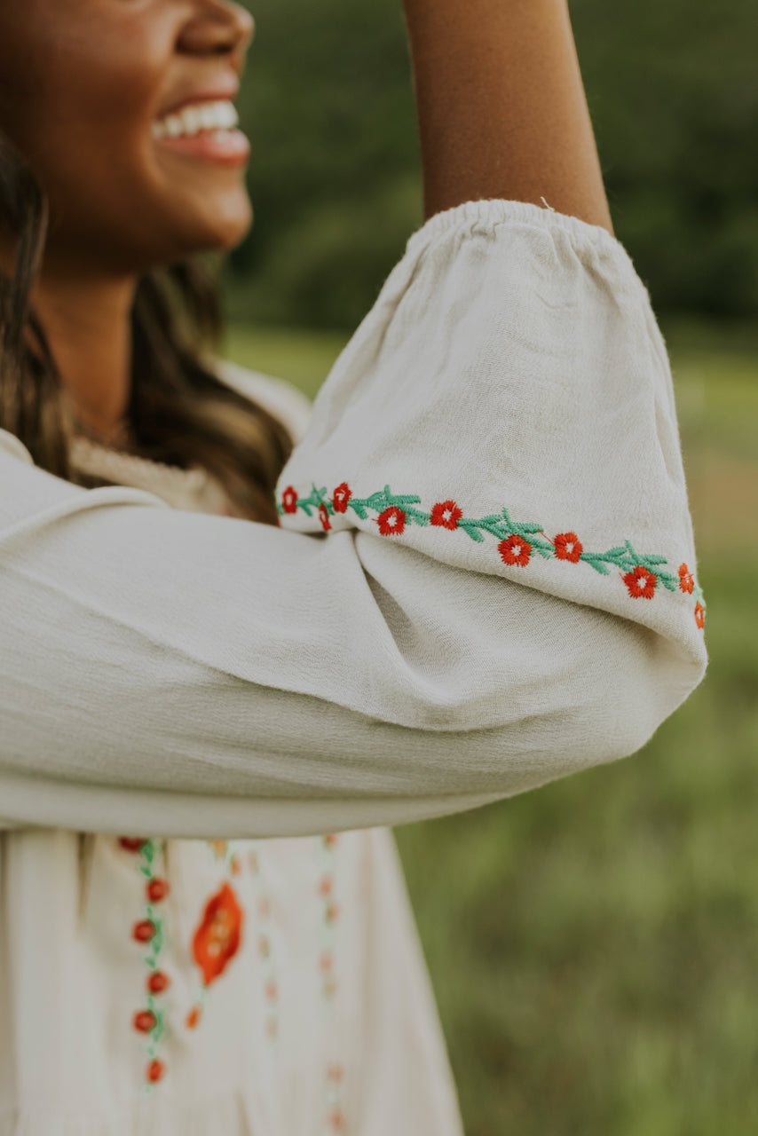 Embroidered Dresses | ROOLEE