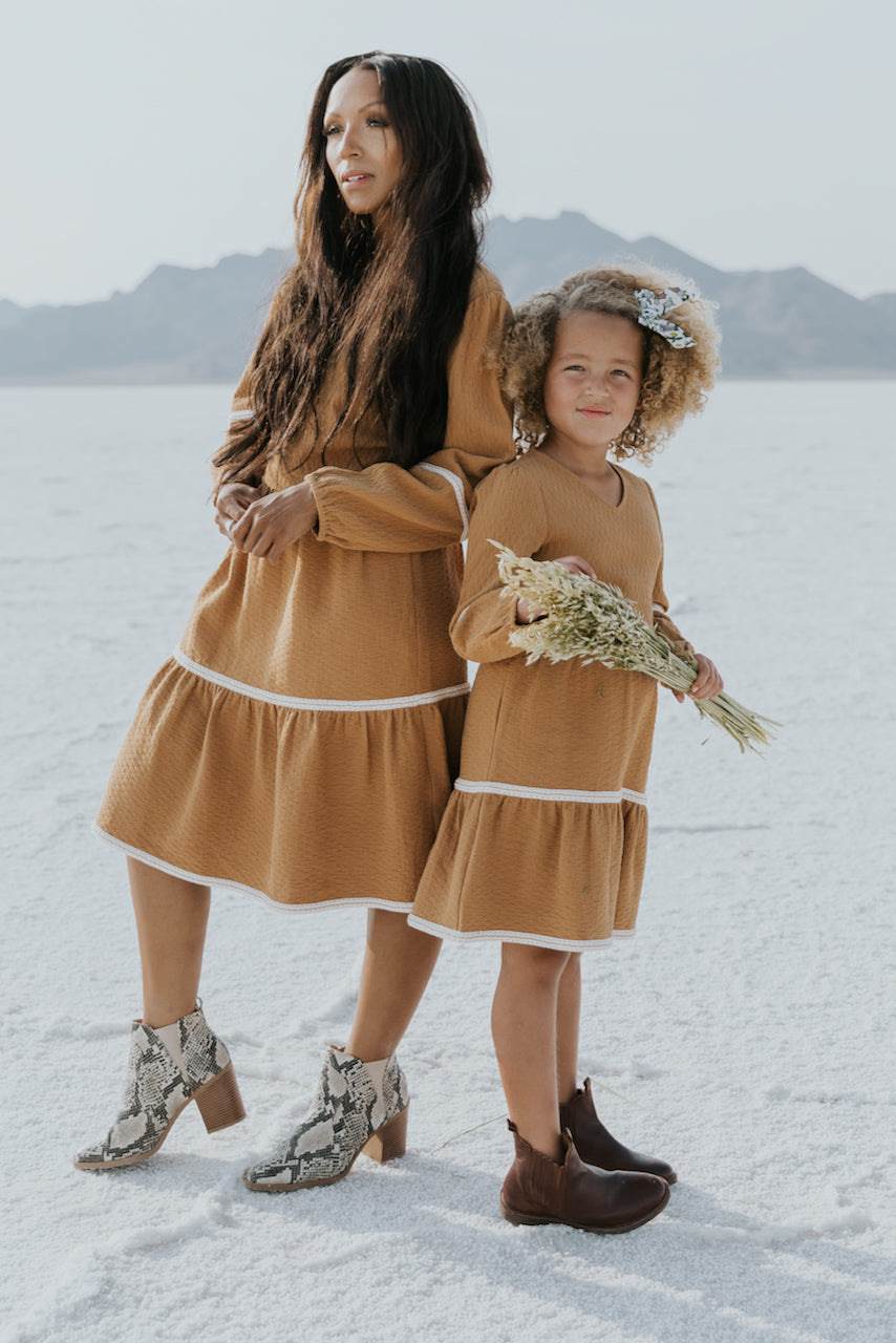 Cute orange mommy and me dresses | ROOLEE