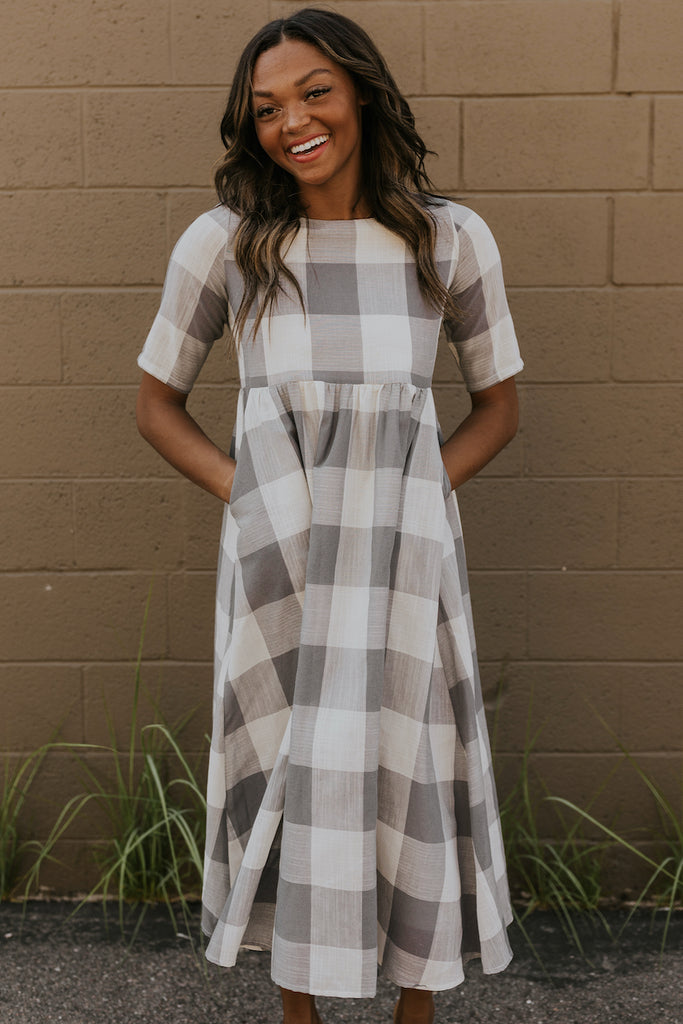 Maddie Buffalo Plaid Dress