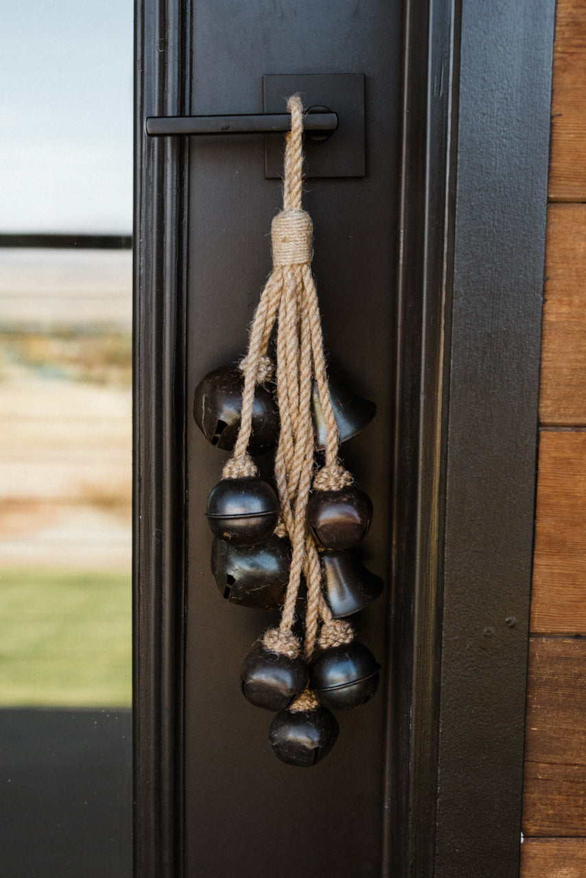 Black matte door bells | ROOLEE
