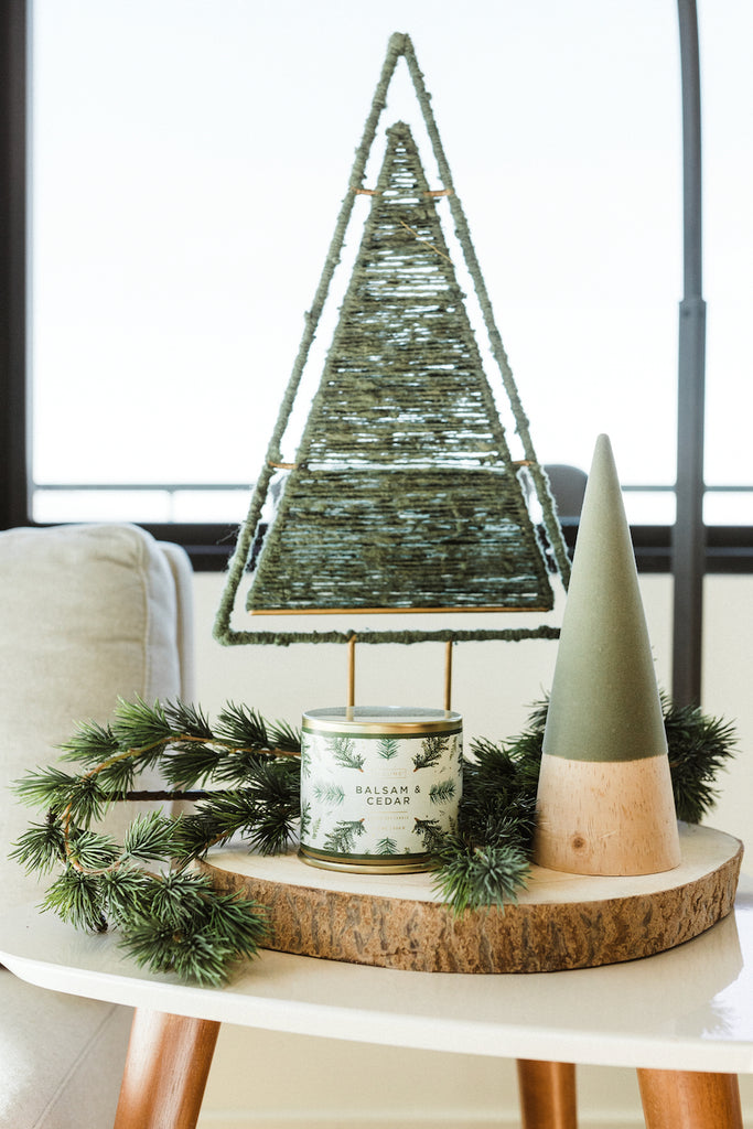 Balsam winter holiday candle | ROOLEE
