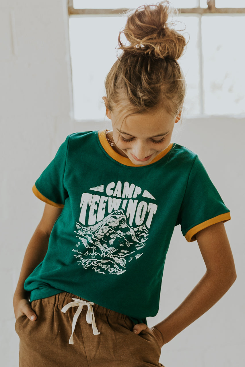 Mini Camp Teewinot Graphic Tee