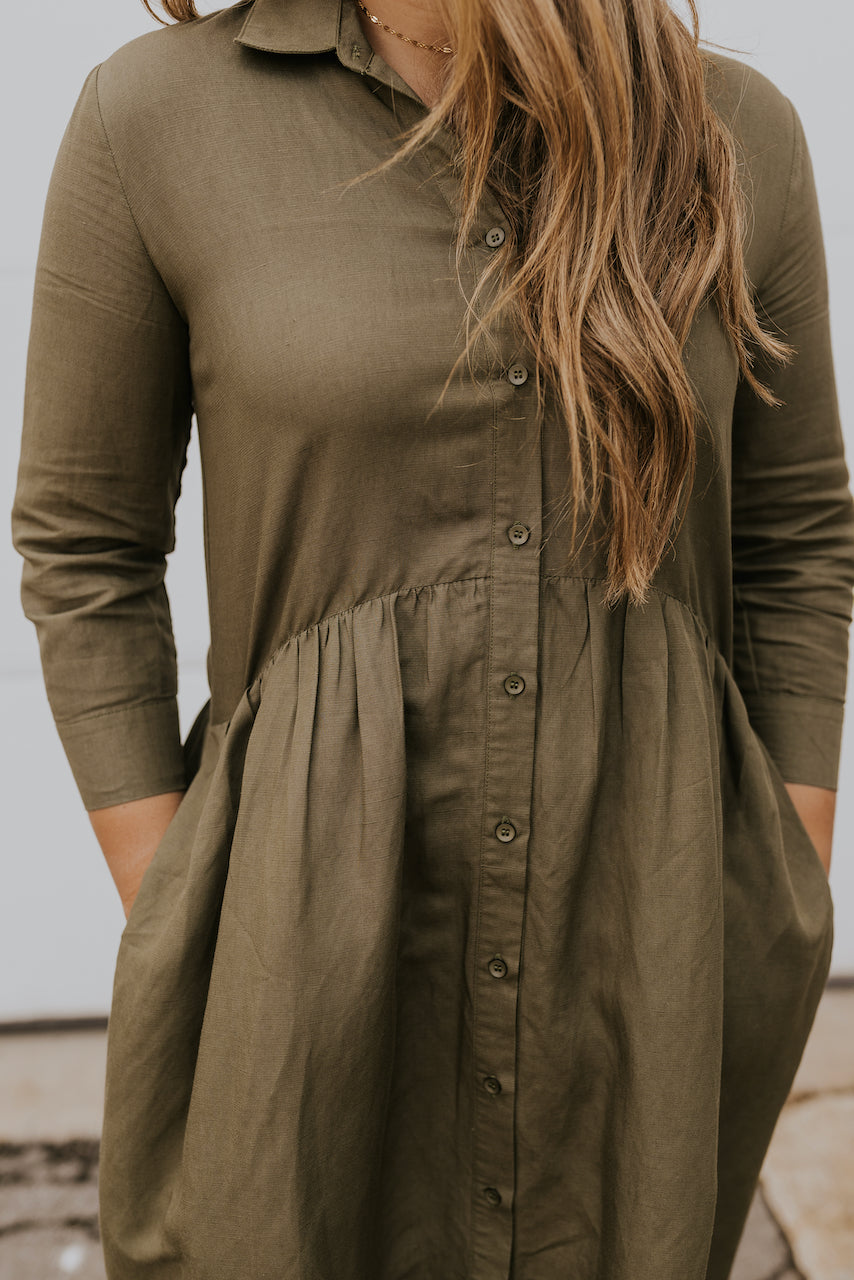 Cute easy dresses for fall | ROOLEE