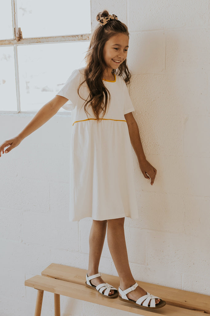 Girls white spring dresses | ROOLEE