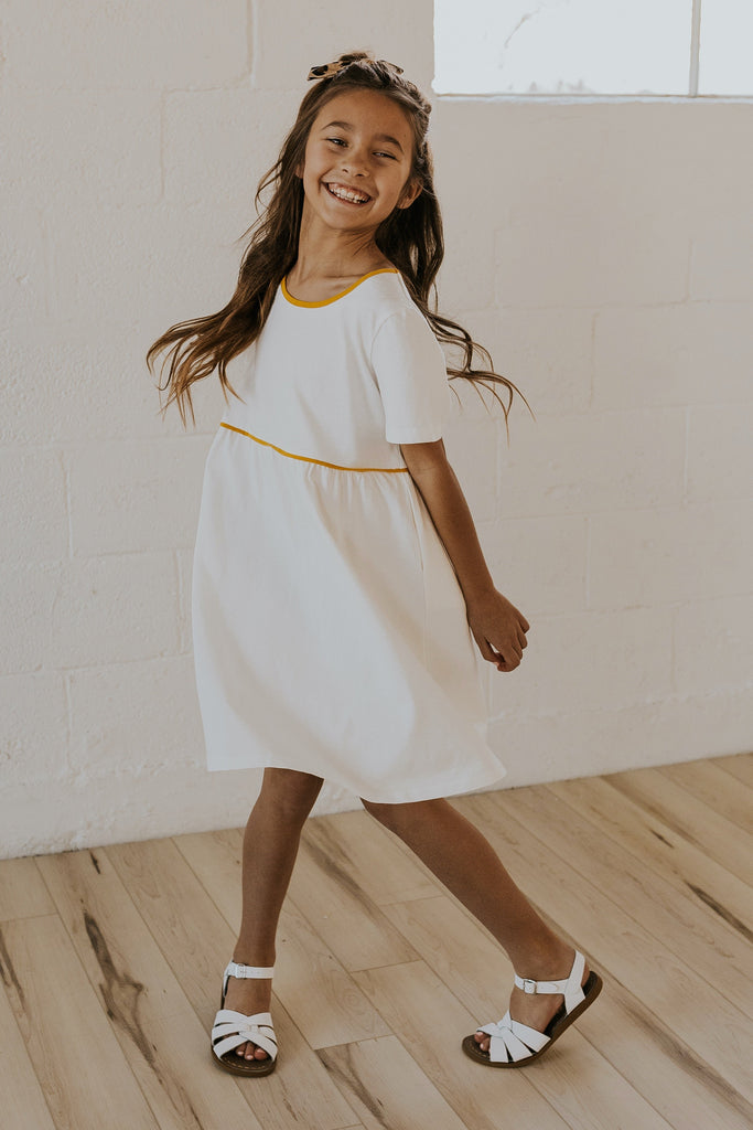 Girls detail babydoll dresses for spring | ROOLEE