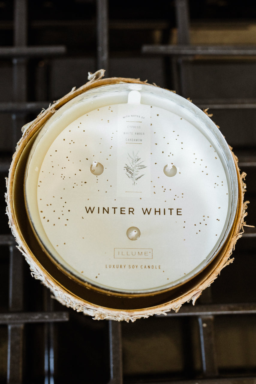 Gold holiday bowl candle | ROOLEE