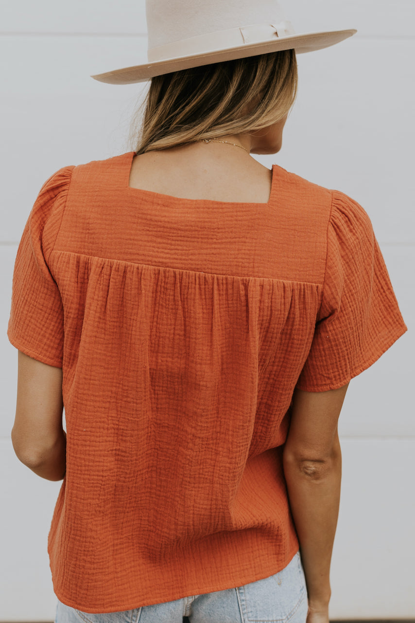 Waffle texture top | ROOLEE