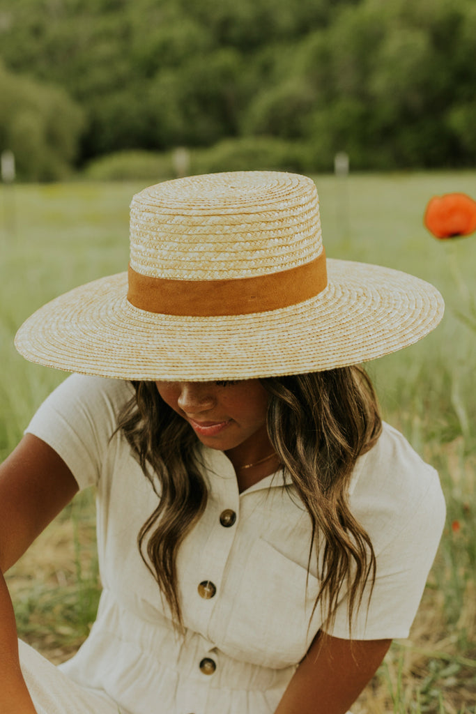 The Capri Medium Straw Hat