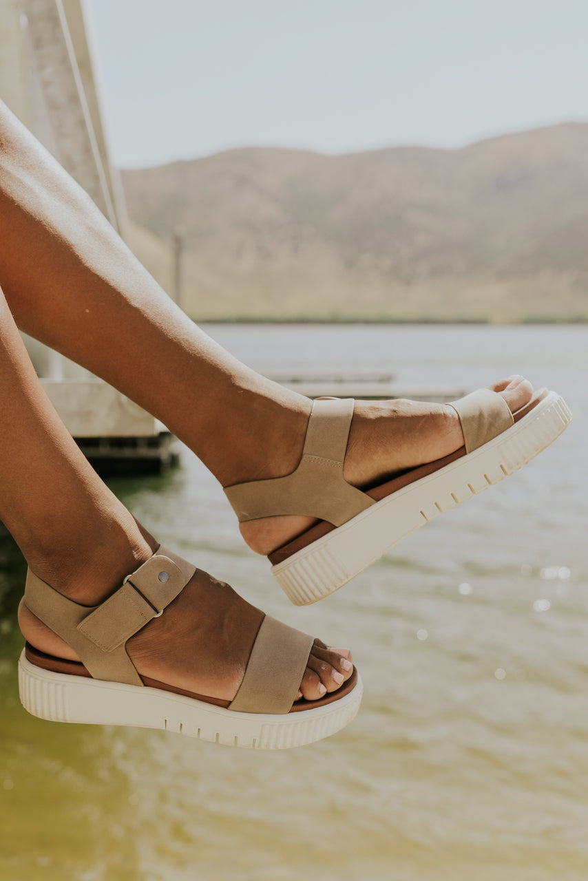 Tan summer sandals | ROOLEE