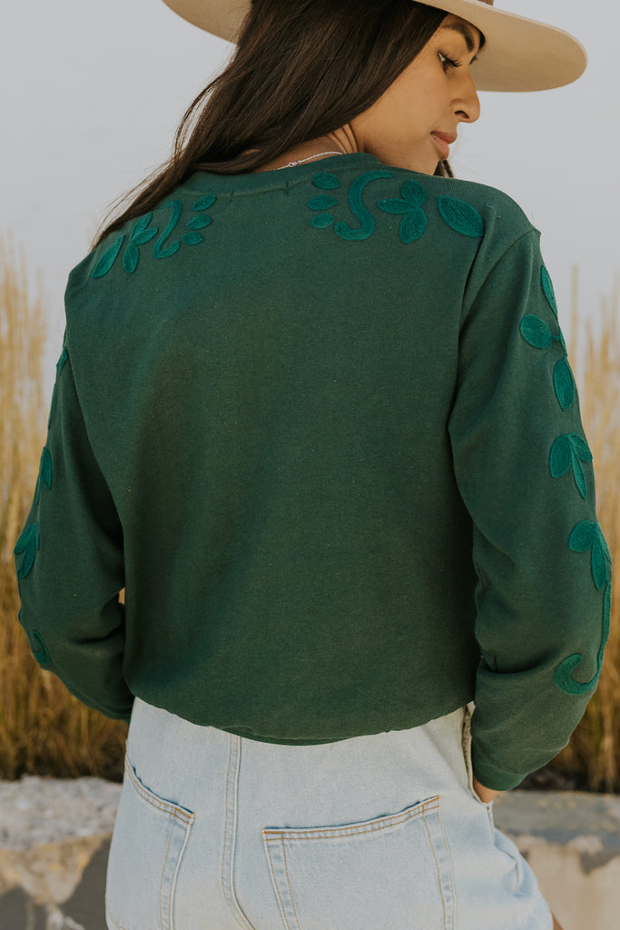 Embroidered Sweater | ROOLEE